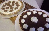 Pastel de chocolate hecho en casa