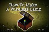 Cómo hacer un inalámbrico lámpara de Minecraft
