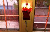 Estante de planta colgante - usb/con energía solar DIY