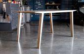 Incluir tabla (experimentos en aluminio y madera contrachapada laminación)