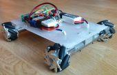 Robot de rueda de Mecanum - bluetooth controlado