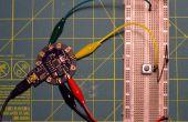 Alligator clip cable de puente para LilyPad Arduino