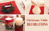 Decoración de mesa navideña, DIY