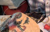 Ejerce de chulo mi guitarra (madera fina)