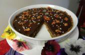 Poder carga tarta caramelo Chocolate tocino salado
