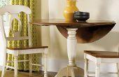 Manera fácil de hacer una mesa abatible