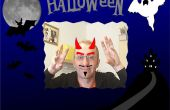 Espejo de Halloween interactivo