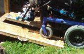 Rampas para sillas de ruedas portátiles