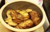 Cómo hacer patatas espiral