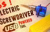 Cómo hacer destornillador eléctrico Usb herramienta de Micro Servo menores de 6 años $!