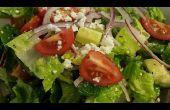 Rápido y fácil ensalada griega