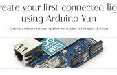 Arduino Yun. Crear su primera luz conectado.