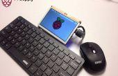 Frambuesa Pi portátil Laptop