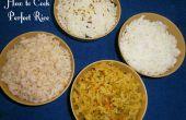 Cómo cocinar arroz perfecto - (4 técnicas)