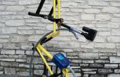 Bicicleta marco Tracker Polar