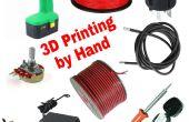 ¿pluma de impresión 3D?  -impresión manualmente modelos
