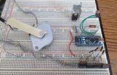 Motor de pasos sensibles de Arduino luz