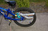 Hacer un silenciador/tubo de escape para su bicicleta.