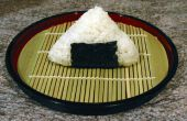 Cómo hacer un Onigiri (bola de arroz)
