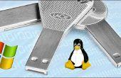 Crear un arranque Windows o Linux memoria USB desde la imagen ISO