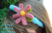 Tutorial diadema de flor de fieltro