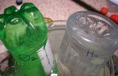 Recoger el hidrógeno y el oxígeno
