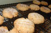Azúcar morena y especias galletas