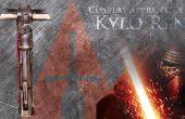 Cómo hacer un sable de luz - Kylo Ren