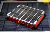(Otro) Cargador móvil solar con estuche impreso personalizado
