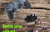 Cómo controlar el servo con controlador de play station 2