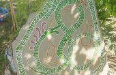 Cómo tallar una piedra de rune para decorar tu jardín de la yarda/