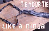 Nudo de la corbata como un Super Ninja en segundos