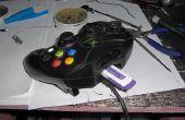 Original XBox controlador memoria tarjeta ranura USB conversión