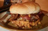 Última hamburguesa de tocino (estilo orgánico)
