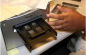 Escanear negativos de 35mm en una Nikon super coolscan 9000