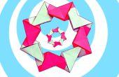Guirnalda fácil de Origami Modular (8 unidades)