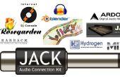 Los componentes de Software de grabación de estudio de Linux