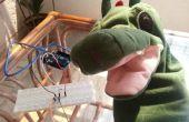 Un juguete de niños lindos que habla con Arduino y unidad :)