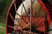 En el antiguo molino de grano para moler en Greensboro NC