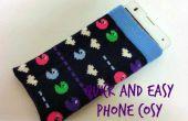 Caja del teléfono del calcetín impresionante