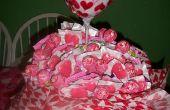 Ramo de Piruletas de San Valentín