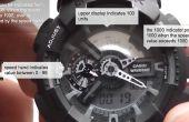 Cómo medir la velocidad con un Casio g-shock