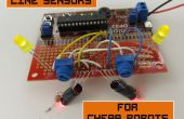 Línea de sensores para Robots baratos