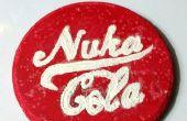 Cómo hacer una montaña de Nuka Cola que brilla intensamente