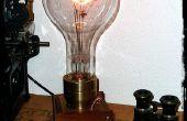 El gigante Edison - una lámpara Steampunk de gran tamaño
