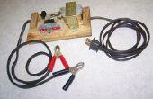Cargador de batería automático para 6 o 12 voltios sistemas