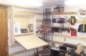 Mi taller del sótano de 10 X 14