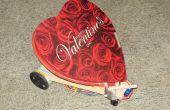 Robot de San Valentín distribuye dulces besos con Picaxe