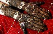 Cómo preparar pasta de Mehendi para diseños magníficos Mehendi árabe