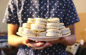 Negro Macarons de sésamo | Josh Pan